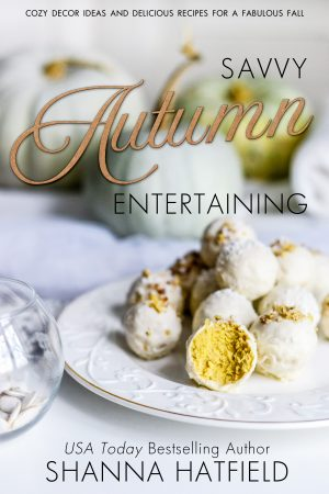 Savvy Autumn Entertaining cover